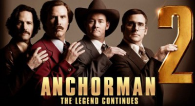 Movie review: Anchorman 2