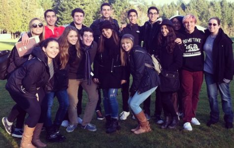 Students visit Evergreen State