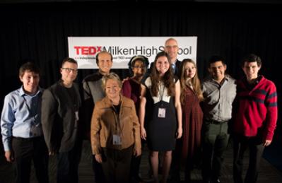 Milken Holds First TEDx Event