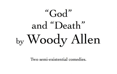 Woody Allen Play Posters