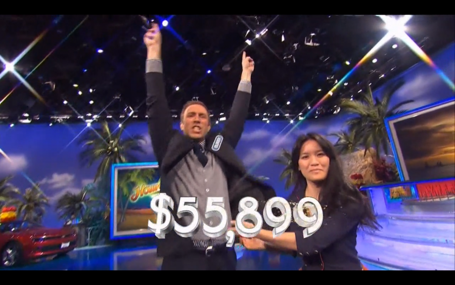 Mr. Savage Takes on Wheel of Fortune