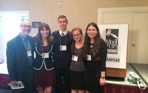 First Place Win at 2015 Moot Beit Din