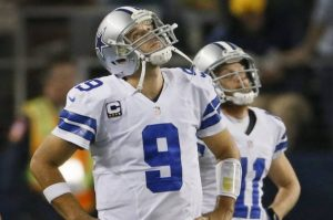 Josh Berenbaum is wary of Tony Romo's lack of weapons this week. Credit: Dallas Morning News
