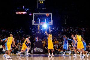 Denver+Nuggets+v+Los+Angeles+Lakers+Game+1+qaHGA74LdWJl