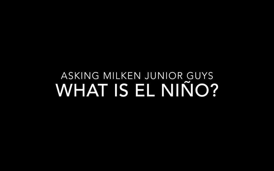 What is El Niño?