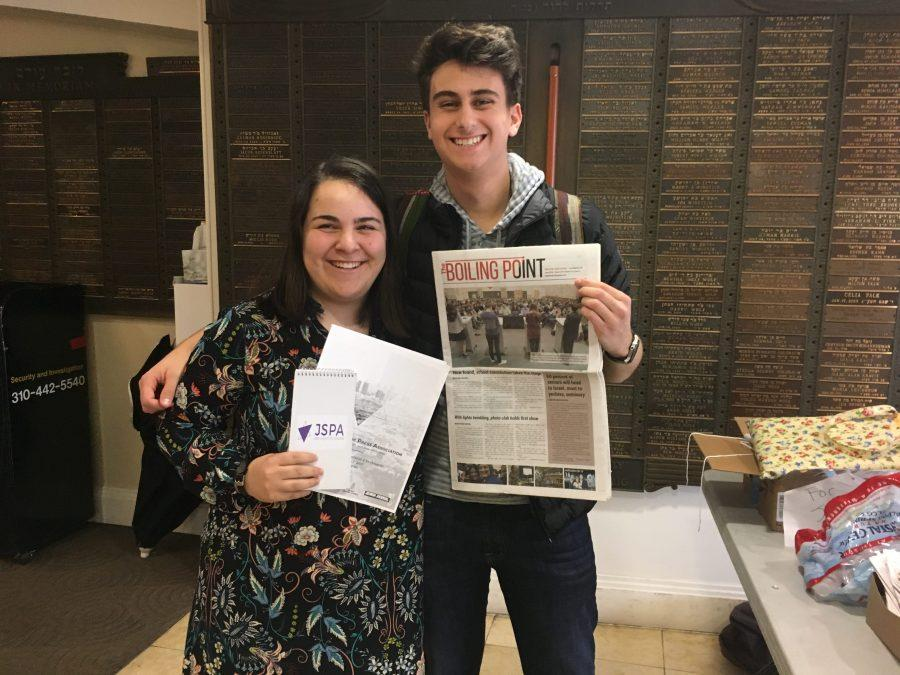 The Roar Staff Members Attend High School Jewish Journalism Conference