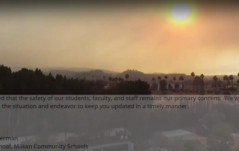 Skirball Fire causes continued danger, campus closure through weekend