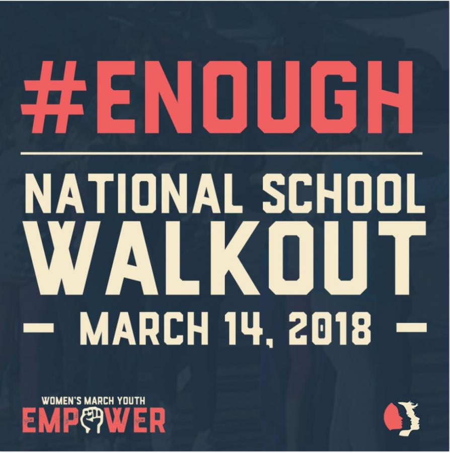 #Enough: National School Walkout Comes to Milken