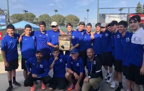 Milken Tennis beats Oakwood to win school's second CIF championship