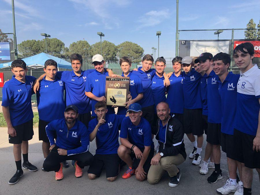 Milken Tennis beats Oakwood to win school's second CIF championship