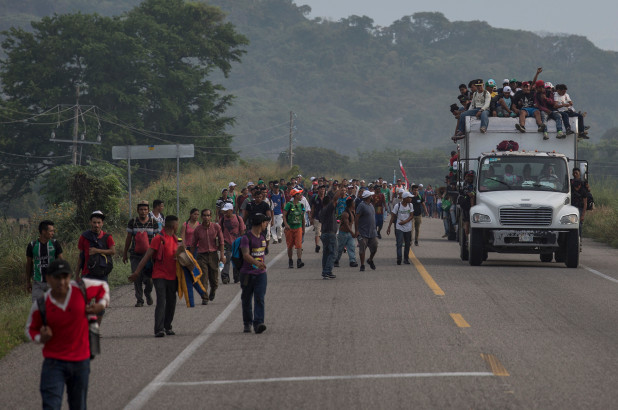 The Caravan: a Political Use of the Military