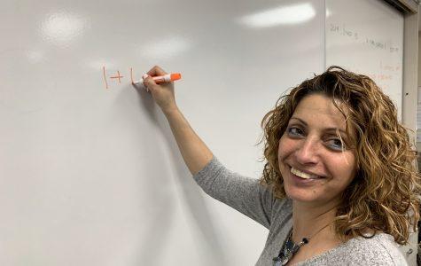Ms. Giladi starts teaching math classes