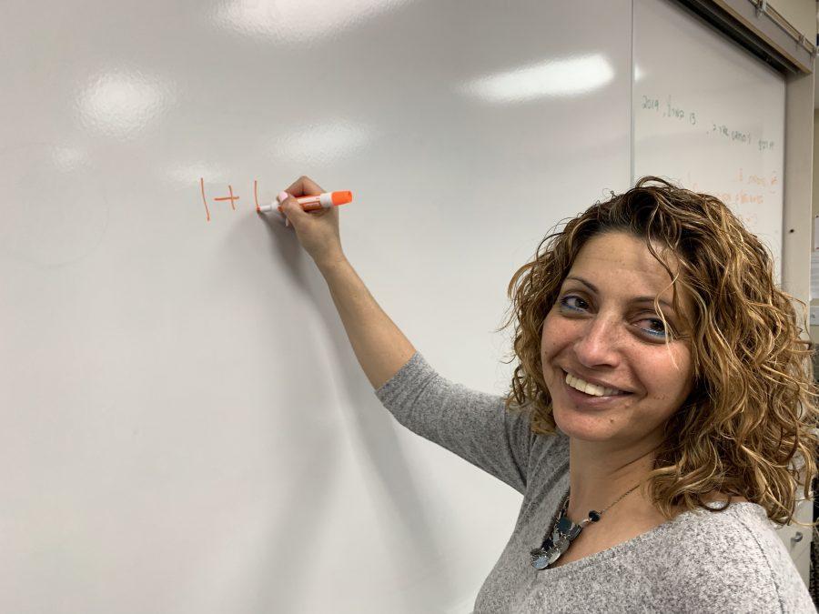 Ms.+Giladi+starts+teaching+math+classes