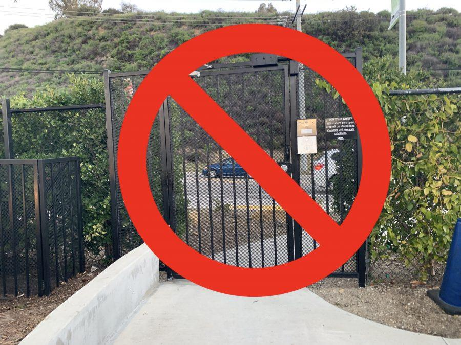 Pedestrian+gate+permanently+closed