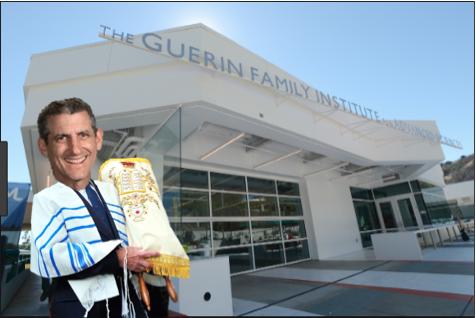 Rabbi BK 3D prints Torah in Guerin
