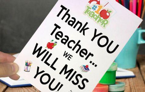 Farewell teachers!