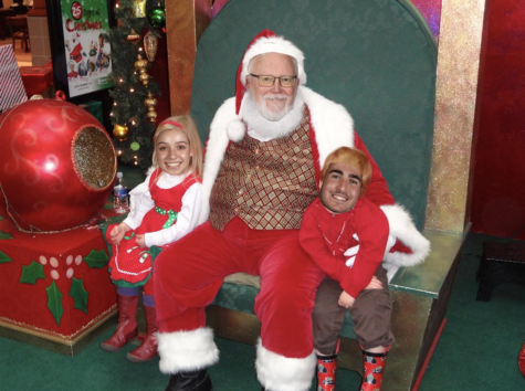 Eyewitness Confirms That Mr. Martin is a Mall Santa