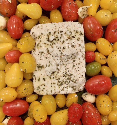 """TikTok Tastings with Leila- """"Viral Baked Feta Pasta"""""""