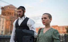 Esty (Shira Haas) and Yanky (Amit Rahav) in 'Unorthodox'